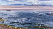 stock photo of incredible  - Scenery when touring the Incredible Uyuni Salt Flats In Bolivia