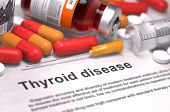 stock photo of medical injection  - Thyroid Disease  - JPG