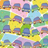 picture of car ride  - Seamless background - JPG
