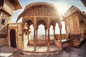 picture of rajasthani  - Zenana mahal in City Palace museum of Jaisalmer fort Rajasthan India - JPG