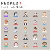 stock photo of avatar  - People Diversity Portrait Design Characters Avatar Vector - JPG