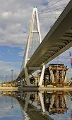 picture of skyway bridge  - the cable - JPG