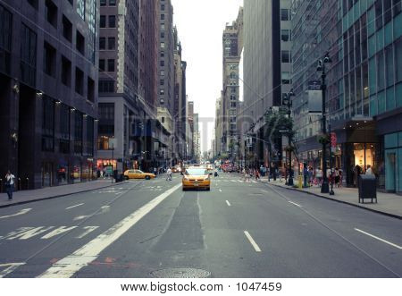 poster of New York City Street 01