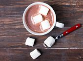 ������, ������: Cup Of Hot Cocoa With Marshmallows
