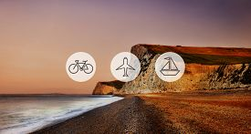 picture of transportation icons  - Transportation Transport Icon Travel Journey Trip Concept - JPG