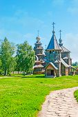 The Walk In Suzdal Wooden Architecture Museum poster