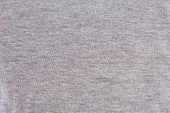 Grey Heather Texture. Grey Fabric Texture. Background With Delicate Striped Pattern. Real Heather Gr poster