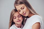 Mother With Daughter poster
