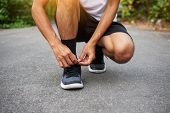 Man Running Jogging On Road,sport Healthy Man, Jogging, Lifestyle, Healthy, Run, poster