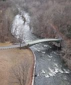 image of crotons  - dam in cortlandt ny croton gorge park lake river mountains beautiful waterfall - JPG