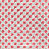 Fuzzy Water Color Flower Seamless Background, Floral Aquarelle Wallpaper. Blured Watercolour Botanic poster