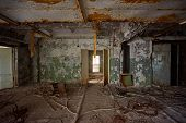 Destroyed Command Post Of The Secret Military Facility Of The Ussrs Airborne Radar System. Chernobyl poster