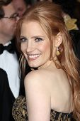 LOS ANGELES - FEB 26:  Jessica Chastain arrives at the 84th Academy Awards at the Hollywood & Highla