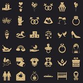 Fell Icons Set. Simple Set Of 36 Fell Vector Icons For Web For Any Design poster