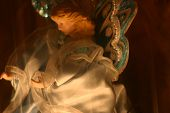 stock photo of christmas angel  - decoration angel - JPG