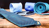 Perfect Necktie Close Up. Shopping Concept. Personal Stylist Service. Stylist Advice. Matching Neckt poster