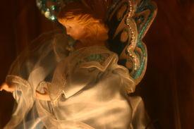 foto of christmas angel  - decoration angel - JPG