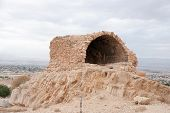 pic of jericho  - Excavations near Jericho city of ancient palace - JPG