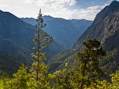 picture of samaria  - Trails thru Samaria gorge - JPG
