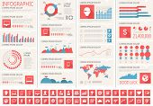 stock photo of diagram  - IT Industry Infographic Elements - JPG