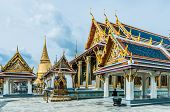 stock photo of royal palace  - Royal palace in bangkok thailand - JPG