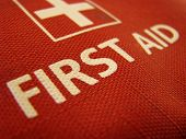 foto of first aid  - Close - JPG