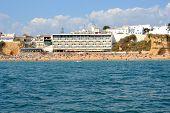 foto of vilamoura  - Beach Peneco Albufeira Algarve Portugal summer sea - JPG
