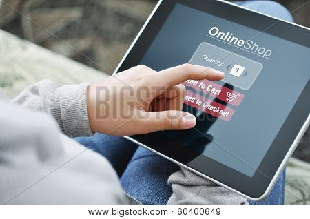 Online Shopping Concept poster