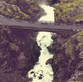 Stigfossen waterfall in Norway