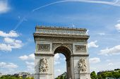 foto of charles de gaulle  - Arc de Triomphe in Paris - JPG