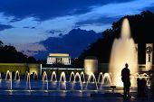 stock photo of memorial  - Washington DC  - JPG