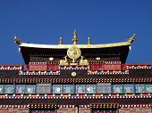 picture of ling  - Tibetan Buddhist temple at Samye Ling Scotland - JPG