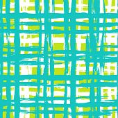 picture of cross-hatch  - Vintage striped seamless pattern with crossing brushed lines in multiple bright colors - JPG