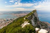 image of gibraltar  - The Bay of Algeciras and La Linea - JPG