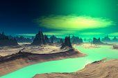 foto of alien  - Alien Planet  - JPG