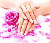 stock photo of nail  - Manicure - JPG