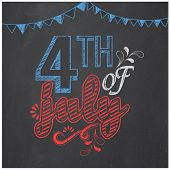 picture of celebrate  - American Independence Day celebration poster - JPG