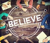 picture of worship  - Believe Hope Inspiration Religion Worship Concept - JPG