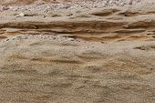 pic of fragmentation  - fragment of the sandy beach sandy background the Baltic Sea - JPG