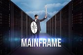 picture of mainframe  - Corporate warrior against mainframe - JPG