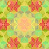 stock photo of psychedelic  - Vector Abstract Modern Psychedelic Pattern - JPG