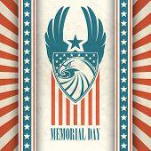 foto of eagle  - Memorial Day - JPG