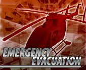 foto of medevac  - Abstract background digital collage concept illustration emergency helicopter evacuation - JPG