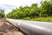 picture of pipeline  - Petroleum Pipeline - JPG