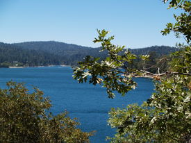image of arrowheads  - Beautiful Lake Arrowhead - JPG