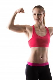 picture of bicep  - Healthy lifestyle - JPG