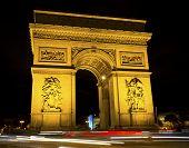 Постер, плакат: Arch de Triumph Arch of Triumph