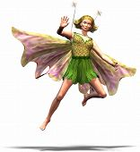 image of tinkerbell  - a fairy tale figure like an elf or something like that - JPG
