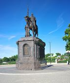 Постер, плакат: Vladimir Vladimir region Russia June 17 2015: The monument to Prince Vladimir