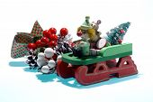 pic of 24th  - xmas ornament on white background - JPG